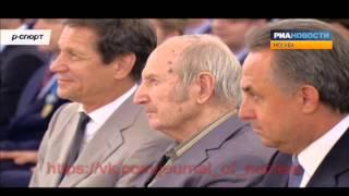Путин вернул олимпийскую медаль Шувалову