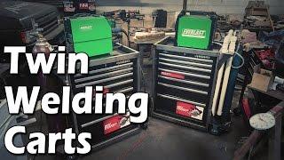 Welding Cart + Tool Box = Bad Ass