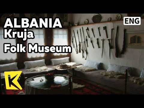 【K】Albania Travel-Kruja[알바니아 여행-크루야]터키 식 가옥, 민속 박물관/Folk Museum/Turkish House/Bell/Room