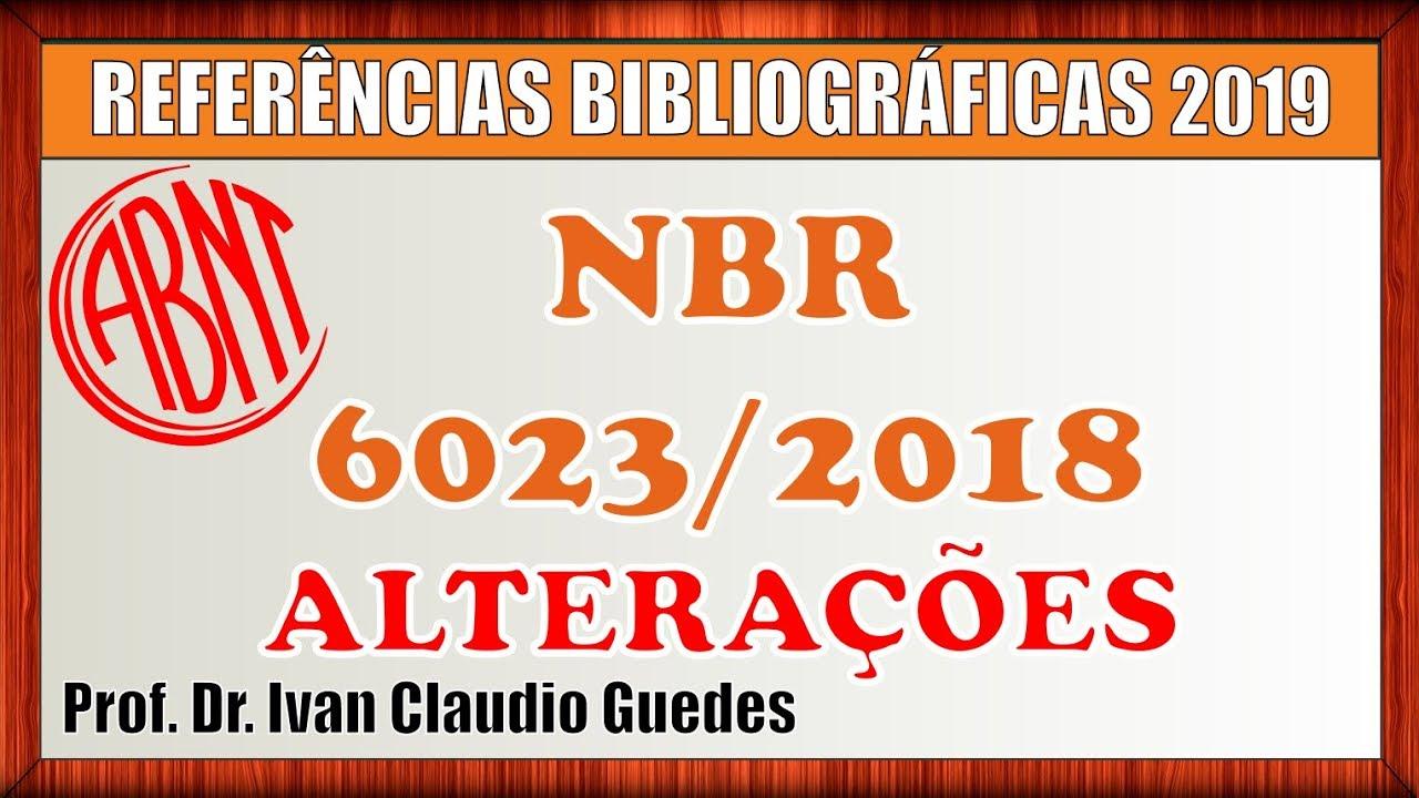 NBR 6023 BAIXAR