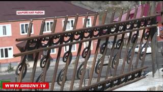 В Шаройском районе продолжаются восстановительные работы