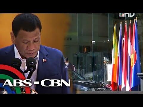 Duterte nasa Thailand para dumalo sa ASEAN Summit | Bandila