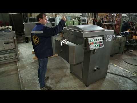 Обзорное видео о работе мешалки ДВАК М-200В