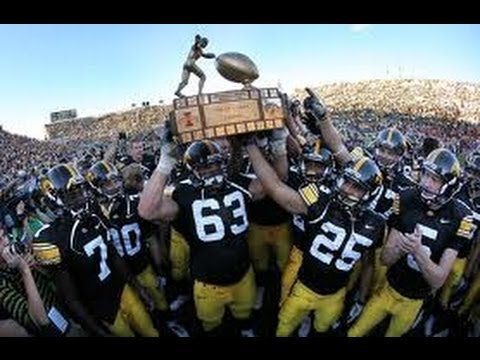 Iowa Hawkeyes Dominate Iowa State Cyclones 2010 Football