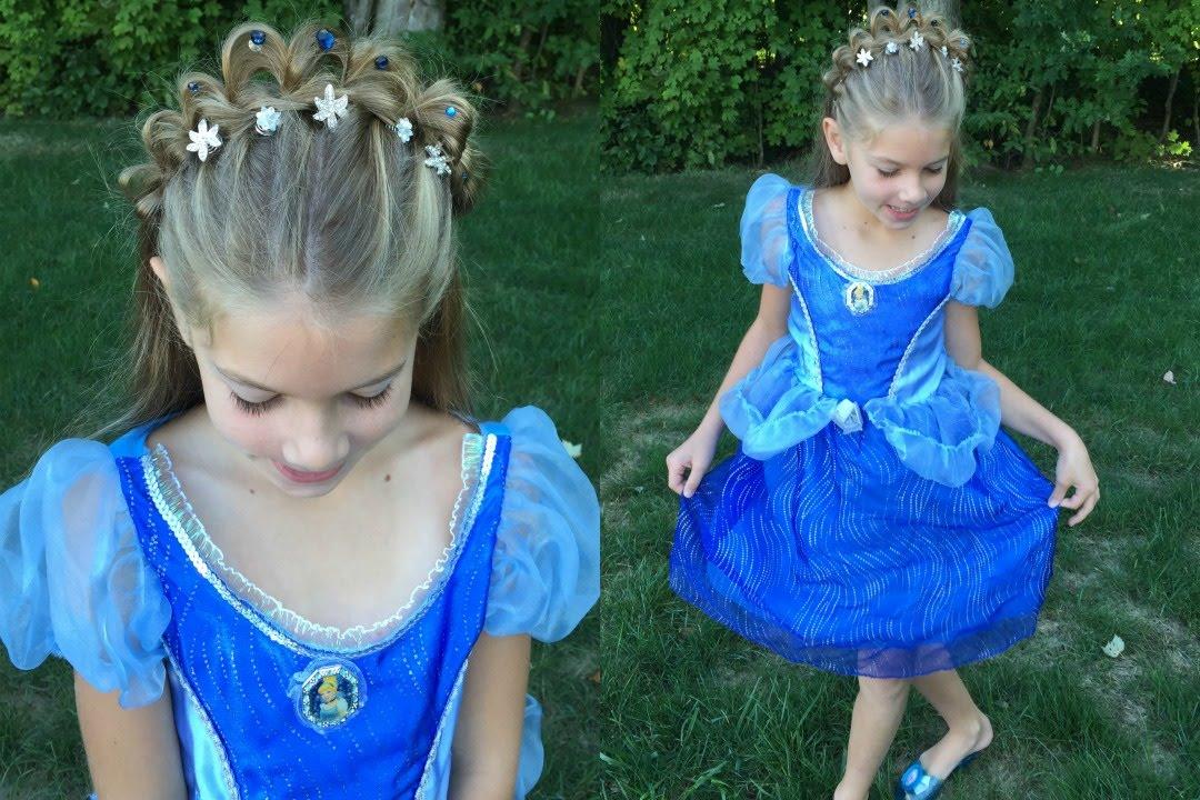 princess tiara braid - halloween