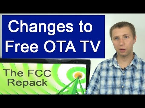 The FCC Repack: How It Affects Free OTA TV Viewers