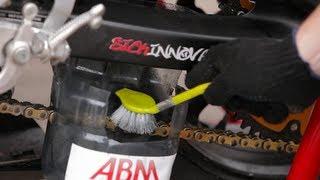 Чистка и Смазка Цепи на Мотоцикле