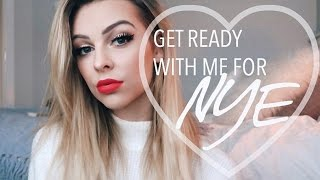 GRWM for NYE | Makeup + Outfit