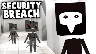 Releasing ROBOTS and the PLAGUE DOCTOR! SCP Security BREACH! (Best Custom Maps - Paint The Town Red)