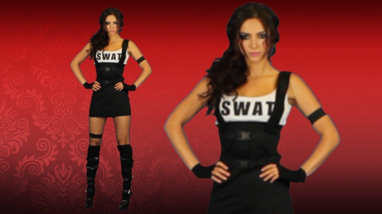 & Sexy Swat Halloween Costumes For Women