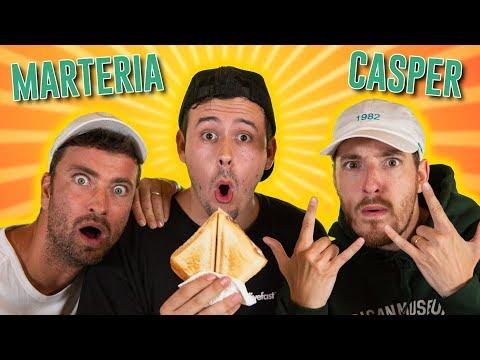 Das große SANDWICHBATTLE ! (mit Marteria und Casper)