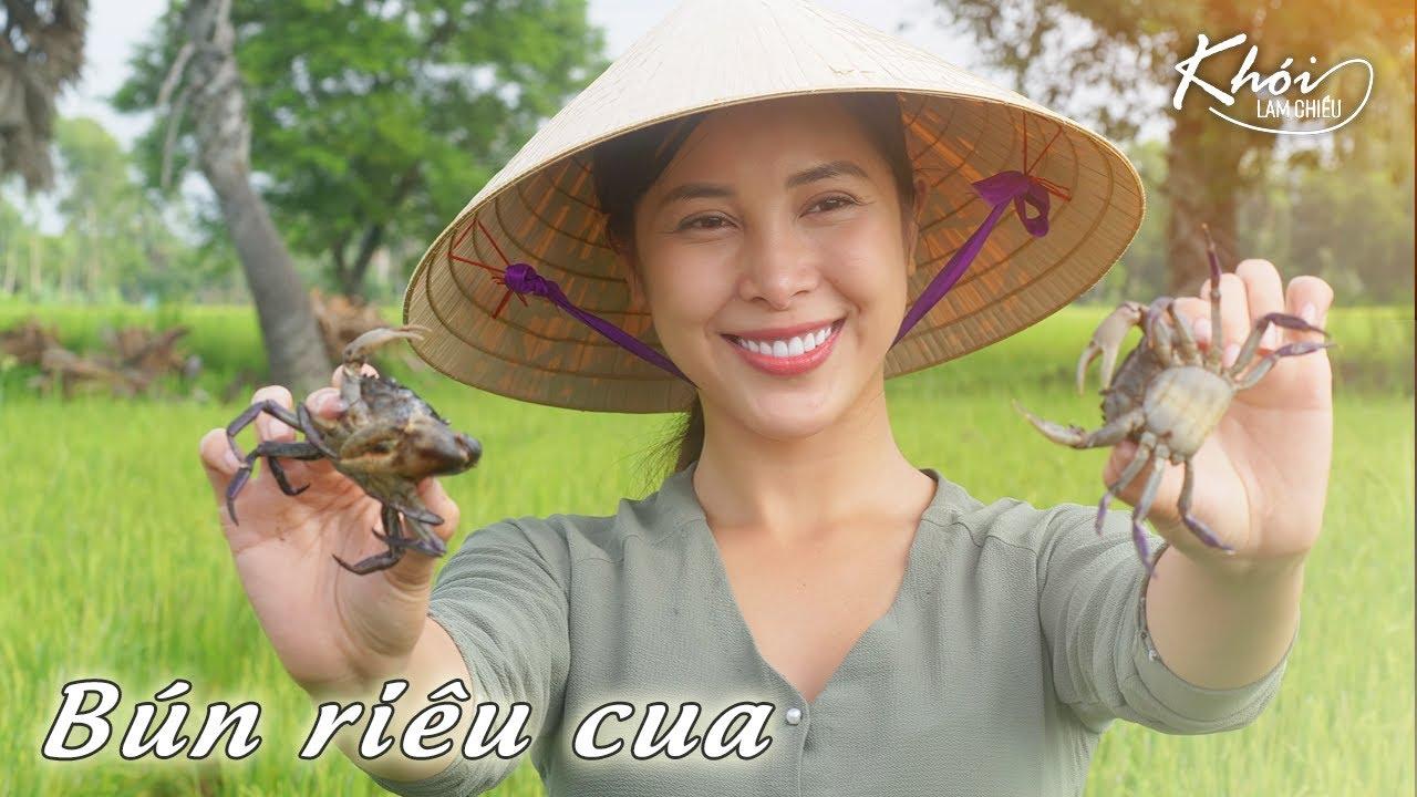 Bún riêu cua đồng hương vị quê nhà - Khói Lam Chiều #37 | An incredible crab paste vermicelli soup