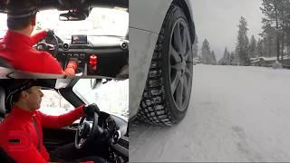 Snow Driving: 2017 Mazda MX-5 Miata GT on Everyman Driver