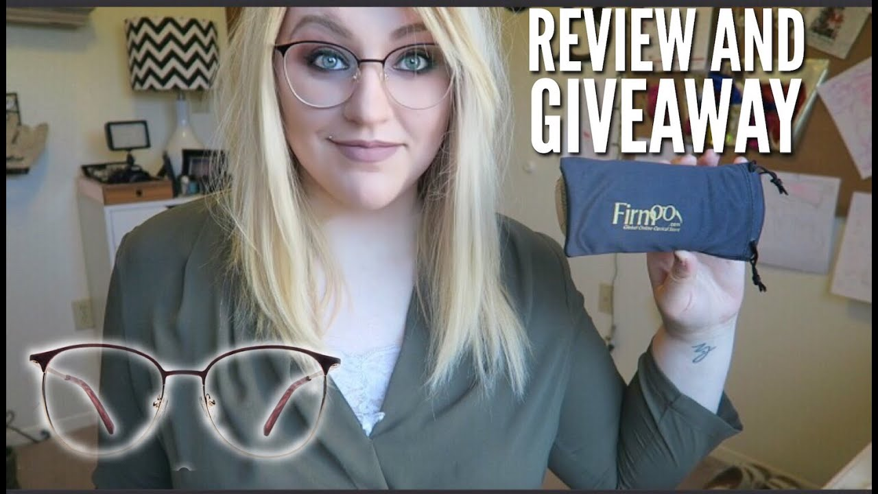 77710fe679 FIRMOO GLASSES REVIEW   FREE GIVEAWAY  CLOSED  - May 2-9