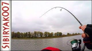Вот это Рыбина! Тут таких не было! .. Рыбалка осенью на малой реке   Лёгкий джиг