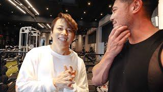 【Youtube初登場!】西川貴教さんの筋トレストイックさにカネキンも驚き!