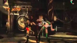 Mortal Kombat 9 - Skarlet Combos
