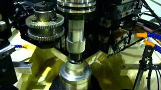 HARTECH Gear shaving, Gear chamferring/deburring machine