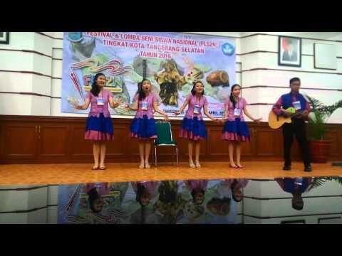JUARA 1 Vocal Group FLS2N 2016 Tangerang Selatan