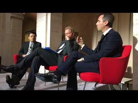 Download UK Ambassador Kim Darroch with Marshall Scholars Sewell Chan and Daniel Baer