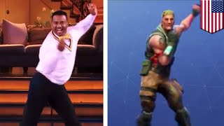 Fortnite is getting sued over 'emote' dances - TomoNews