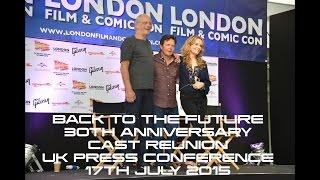 Back to the Future 30th Anniversary Cast Reunion - Michael J Fox, Christopher Lloyd & Lea Thompson