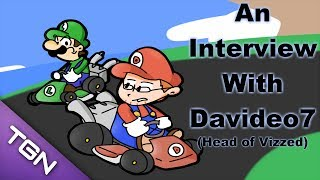 Super Mario Kart - VIZZED SPECIAL! An Interview with Davideo7 ( Feat. Super Mario Kart) - User video
