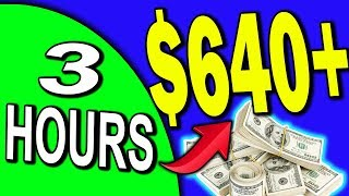 How To Earn $640.44 In 3 HRS By following These 4 Simple Affiliate Marketing Steps!!!