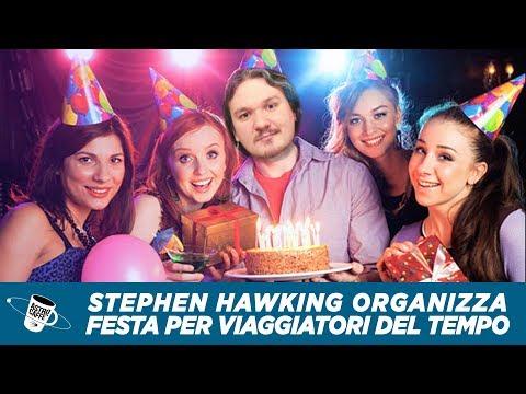 Stephen Hawking e la festa per viaggiatori nel tempo