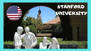 Stanford University, a walking tour (Stanford, California, USA)