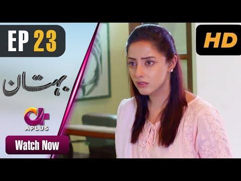 Pakistani Drama | Bohtan - Episode 23 | Aplus Dramas | Sanam Chaudry, Abid Ali, Arslan Faisal