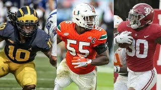 Top 10 College Football Linebackers 2018