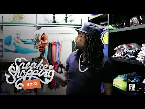 Thumbnail: Wale Goes Sneaker Shopping With Complex