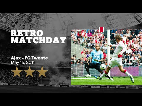 The Ajax Youtube channel just started livestreaming a classic match between Ajax and Fc Twente from 15-05-2011