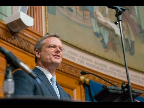 Governor Charlie Baker's 2018 State of the Commonwealth