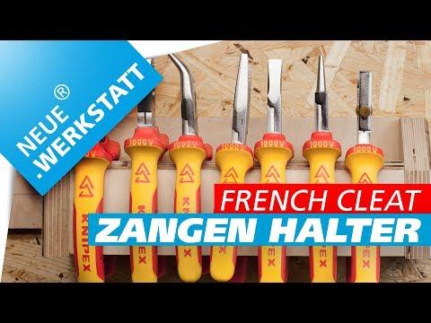 ◆ Wandhalterung für Zangen jeder Art /// French Cleat System Zangenhalter // Werkzeug Halter