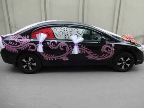 Picture Ideas of Wedding car decor | Decor by yourself for your wedding | Hand made decor