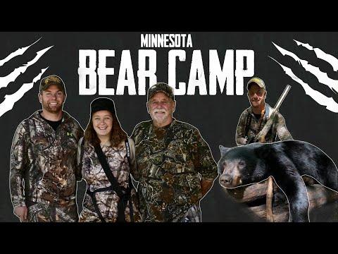 BEAR KILL in the BIG WOODS // Family Hunt // Northern Minnesota Bear Hunt (E.1)