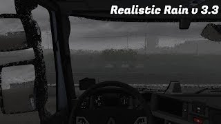 "[""ETS 2 Mod Realistic Rain v 3.3 for 1.36"", ""ETS 2"", ""euro truck simulator 2"", ""euro truck simulator 2 mods"", ""rain mod ets2"", ""realistic graphics"", ""realistic mod""]"