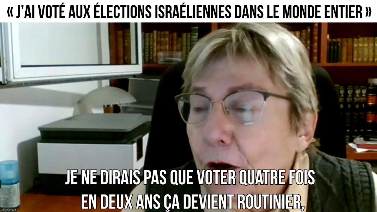 « J'ai voté aux élections israéliennes dans le monde entier »