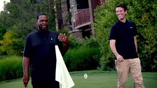 Putting Contest With Hip-Hop Mogul Uncle Luke | Gimmes 4 Loot