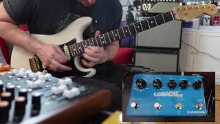 T C Electronic FlashBack 2 X4 - Flying In A Delay Dream this #straturday