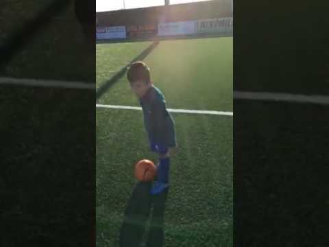 Eastbourne borough U9 Mannequin challenge