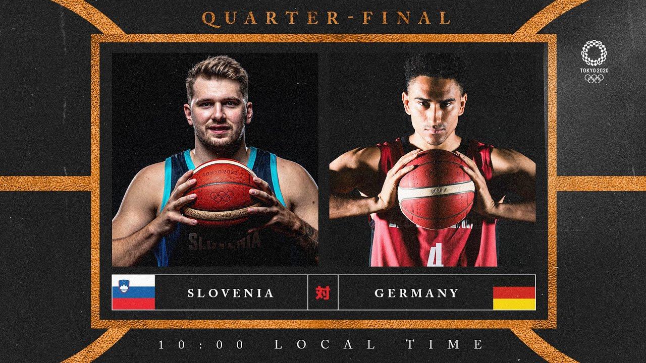 Slovenia v Germany - Watch along party | #Tokyo2020 ⚡ #Basketball