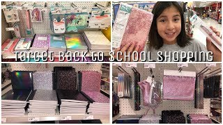 2018 TARGET BACK TO SCHOOL SHOPPING 🍎 SCHOOL SUPPLIES