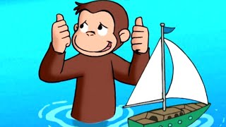 Curious George 🐵Buoy Wonder 🐵 Kids Cartoon 🐵 Kids Movies | Cartoons for Kids