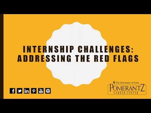 Employer Webinar - Internship Challenges: Addressing Red Flags - 2017