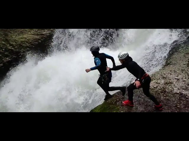 Canyoning Doubs Jura avec Outdooarctivities