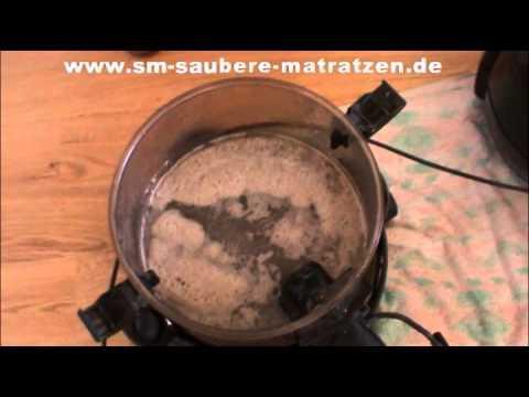 SAUBERE MATRATZEN - Perfekte Reinigung erklärt von Sebastian Mang