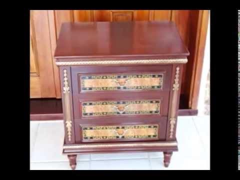 Muebles con decoupage youtube for Decoupage con servilletas en muebles